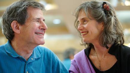 Gary Zukav and Linda Francis, spiritual partners